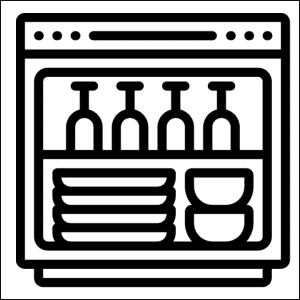 lavaggio stoviglie meccanico