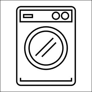 Lavaggio bucato lavatrice